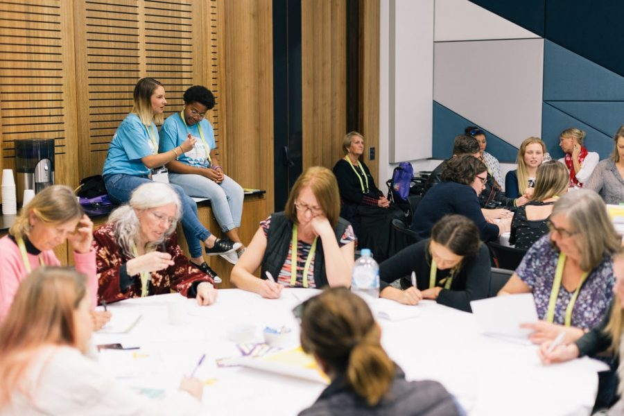 CREATE Young Consultants leading activities at VIA 2017