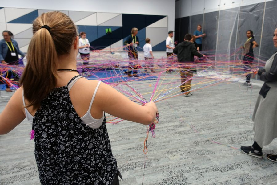 Young People enjoying activities at the VIA 2017 Conference